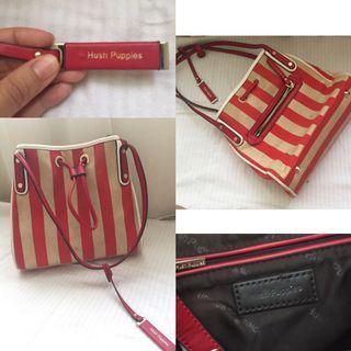 Authentic Stripes Hushpuppies Bag