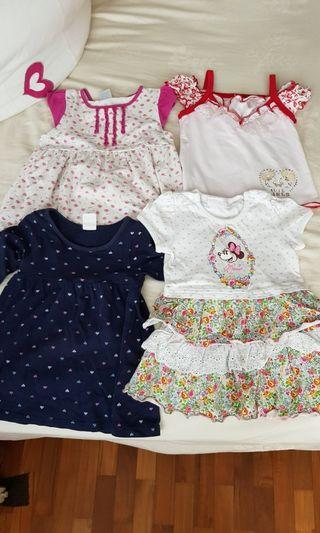 🚚 [PO] Baby Girl Clothes tops and dresses