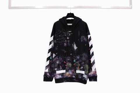 Off white galaxy Firework sweatshirt hoodie