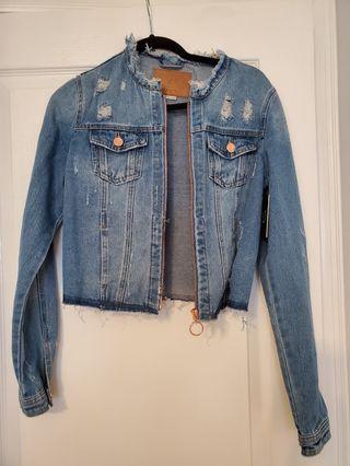Fashion nova Jean jacket size M