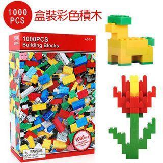 🚚 【GCT玩具嚴選】1000PCS盒裝彩色積木