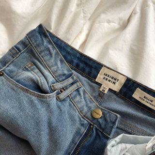 Insight lightwash denim jeans