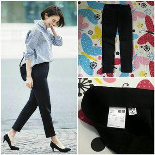 UNIQLO Ponte Slim Pants (Black M)