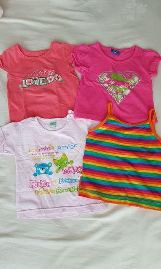 🚚 [PO] Baby Girl Clothes tops