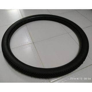 Bicycle solid tyre.