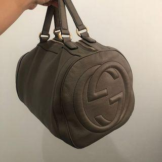 Gucci Soho Boston Grey ORIGINAL