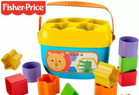 🚚 Fisherprice Shapes Sorters Baby Toddler Toys Push Shapes
