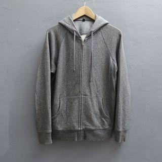 UNIQLO灰色 連帽休閒外套 XL號