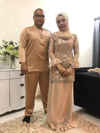 Baju nikah custom made