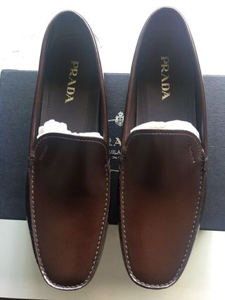 b1d4aed8a8e Prada loafers new (bought and stored unused)