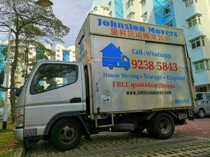Lorry mover WHATSAPP 92385843 JohnsionMover
