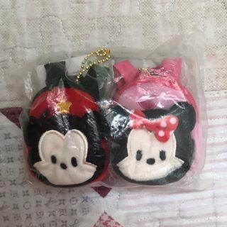 Mickey n Minnie 背包造型散紙包