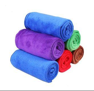 Microfibre Water Absorbent Cloth