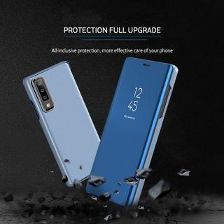 Samsung A7(2018) Mirror View Electroplated Flip Case