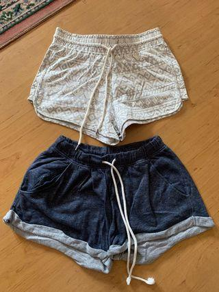 Original Preloved Cotton On and H&M Short (free shipping) SET
