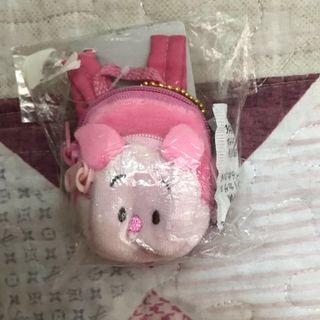 Winnie the Pooh fds 小豬背包造型匙鏈散紙包