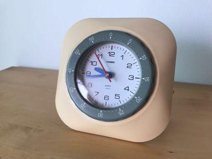 Vintage Table and Wall Clock
