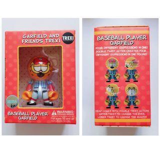 加菲貓絶版模型  四款表情 全新 2.5吋 可面交或郵寄