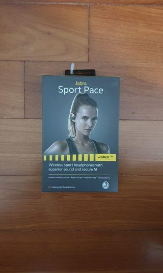 Jabra sport pace wireless bluetooth earbuds