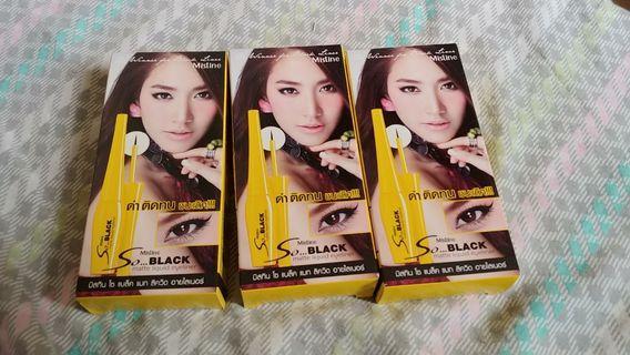 Mistine So Black Eyeliner 泰國Mistine黑眼線液