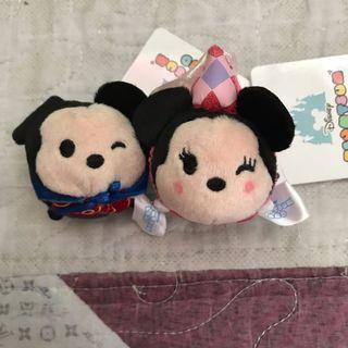 Disney Tsum Tsum Mickey n Minnie soft toy