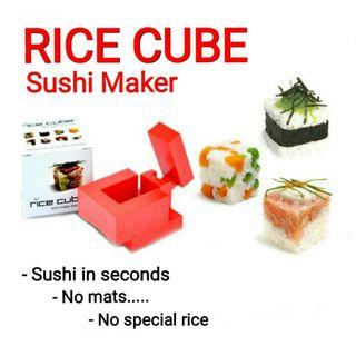 👍👍Rice Cube Sushi maker. Let's Make Rice Cool. Usual Price :$24.90 Now : $9.90 + FREE mail postage(Brand new in box)