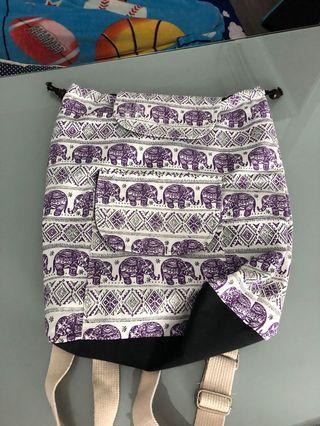 🚚 elephant bagpack