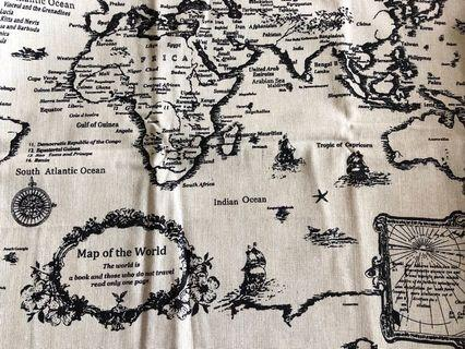 """DAQ """"map of the world"""" canvas collection"""