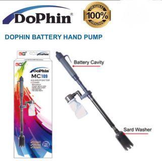 DOPHIN AQUARIUM BATTERY CLEANER