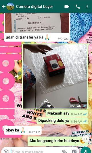 REAL Transaction Via WhatsApp ❤ BUKAN KALENG2 ya shayy