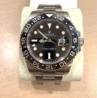 Rolex GMT II 線針 (官網已停產)