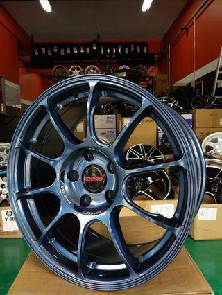 Volk Rays ZE40 Magnesium Blue 17'