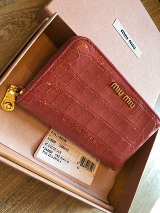fbe7323840e Miu Miu croc purse - last price