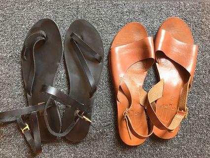 Renegade Folk and Minimalist Sandals Bundle
