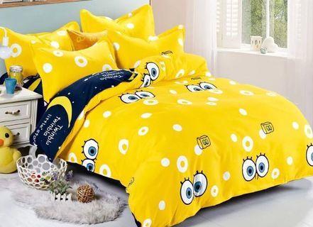 床單被套 三件裝 (床罩、枕套、被套)