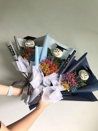 🎓 Graduation bouquet // Smiley bouquet 💐