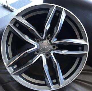 "18"" Audi OEM rims"