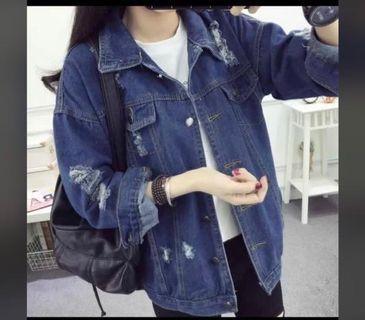 Denim Loose Style Jacket