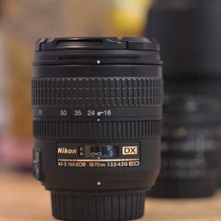 Nikon AF-S 18-70/3.5-4.5G IF-ED (購自大行)
