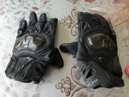 Rs taichi short leather glove