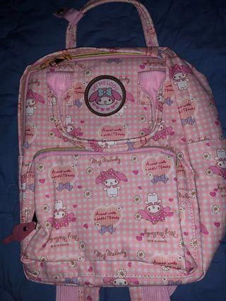 My Melody backpack #EndgameYourExcess