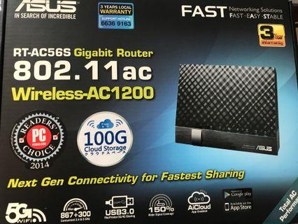 🚚 Asus RT-AC56S Gigabit Router