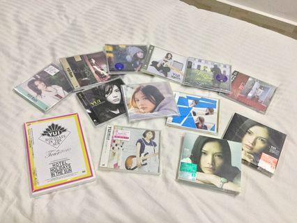 JPOP YUI CD & DVD Collection