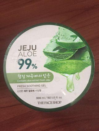 Aloe Vera gel the face shop