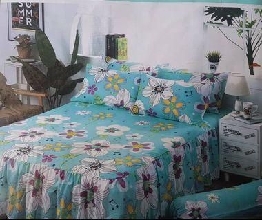 Time sale promo for skirting bedsheet