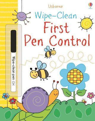 (BN) Usborne: Wipe-Clean First Pen Control