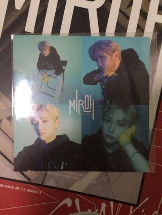 WTT STRAY KIDS MIROH FELIX TO HYUNJIN STICKER