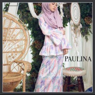 Minimalace Royal Paulina Pastel Kurung Moden