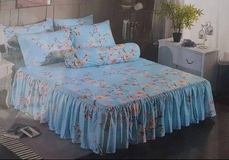 Time sale - skirting bedsheet