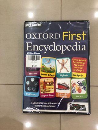 🚚 OXFORD First Encyclopedia